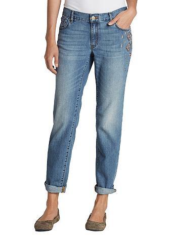 Облегающий Boyfriend джинсы