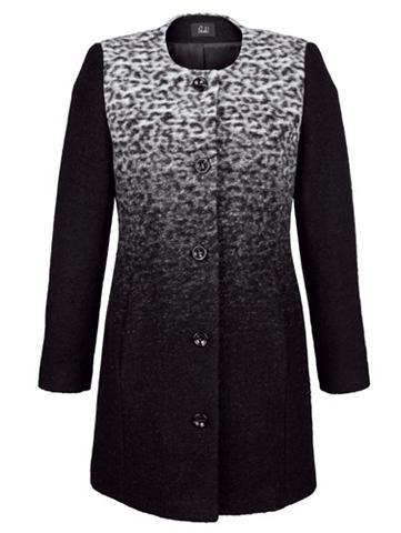 Пальто короткое с Wolle