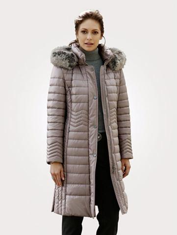 Пальто короткое с Webpelz