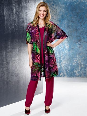 Блузка длинная в zartem Ausbrennergewe...