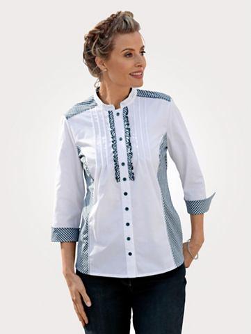 Блуза с Vichykarobesatz