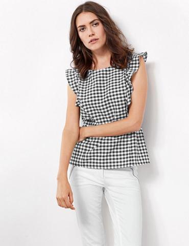 Блуза без рукава Блузка с Rüschen...