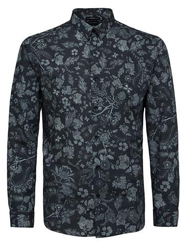 Blumendruck- узкий форма рубашка