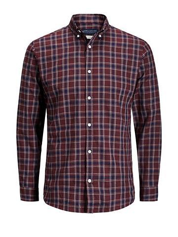 Jack & Jones клетчатый рубашка с д...