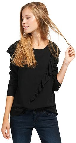 Блуза Блузка с Volant-Aufsatz«