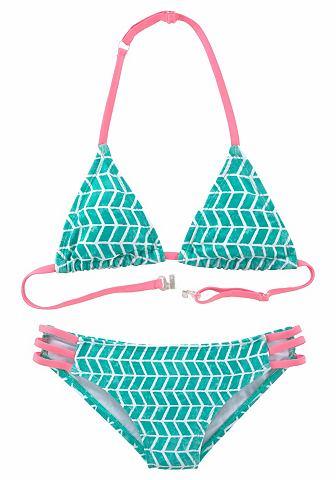 RED LABEL Пляжный купальник с треуголь...