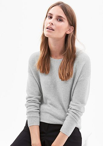 Gerippter трикотажный пуловер