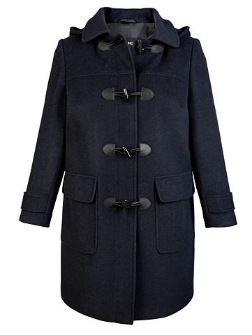 Пальто с съемный капюшон