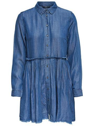 Peplum- платье джинсовое