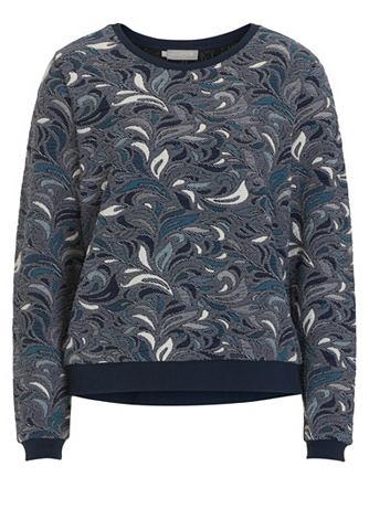 Betty&Co пуловер gemustert с футбо...
