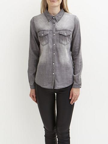 Vibista - рубашка джинсовая