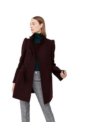 Пальто шерстяное с Puffärmeln