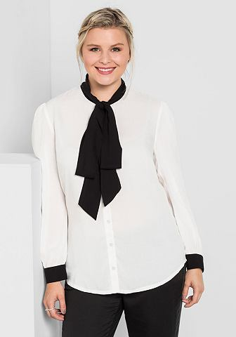 Shee GOTit блузка с бантом