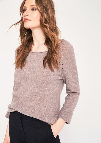 Мягкий пуловер трикотажный с 3/4-&Auml...