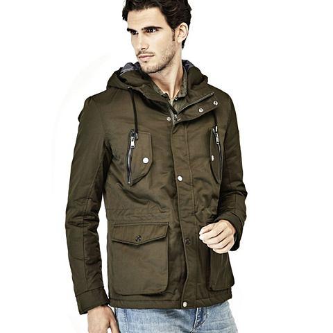 Куртка парка с капюшон