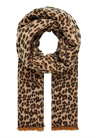 Шарф зимний с Leopardenmuster
