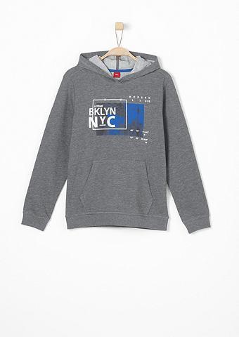 Пуловер с капюшоном с узор для Jungen