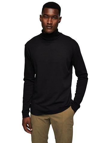 Basic-Pullover из Baumwoll-Mix