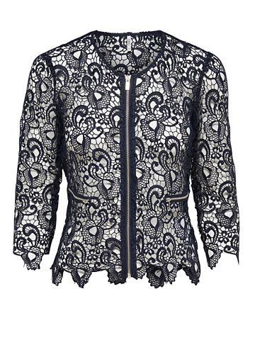 Кружева пиджак