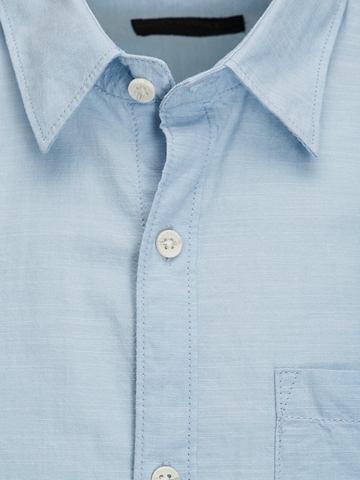 Ein-Taschen- рубашка с длинными рукава...