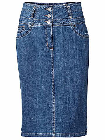 HEINE TIMELESS юбка джинсовая с с удлиненной...