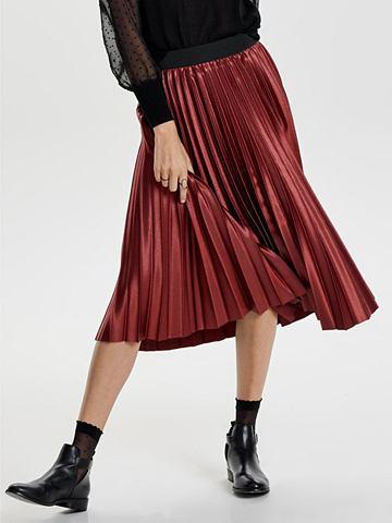 Plissee- юбка длинная