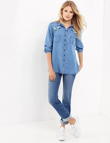 Блуза 1/1 рукава »Jeanshemd с St...