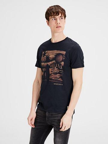 Jack & Jones с узором футболка