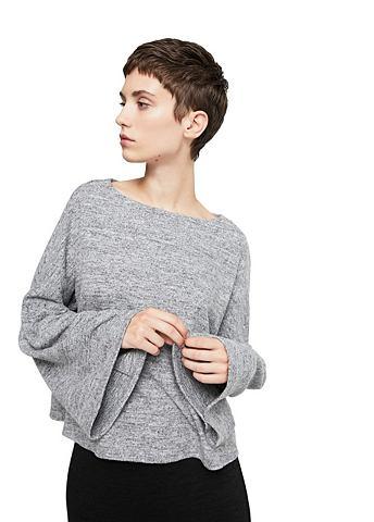 Melierter пуловер Oversized
