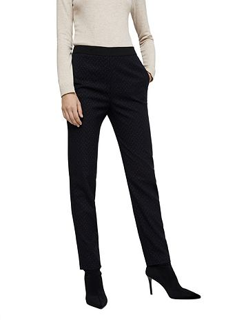Полосатый костюмные брюки