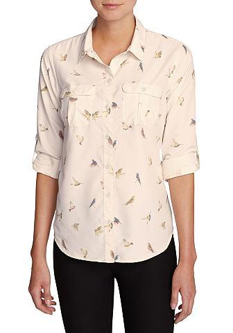 Mountain блуза - длинный рукав - c узо...