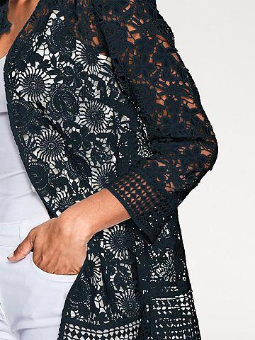Кружевное пальто с Blumendessin