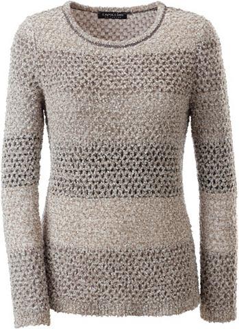 Пуловер из Bouclé-Garn