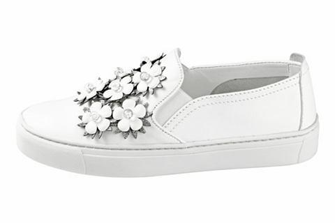 Туфли-слиперы с Blüten-Applikatio...