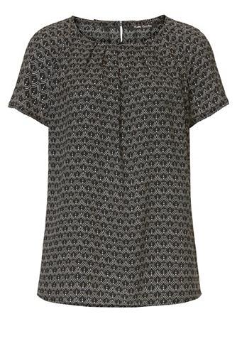 Блуза с повторяющийся узор