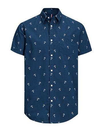 Print- рубашка с короткими рукавами