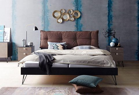 Кровать с мягкий отсек для изголовье