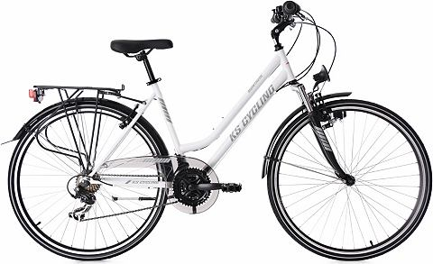 KS CYCLING Велосипед 28 Zoll weiß Shimano 2...