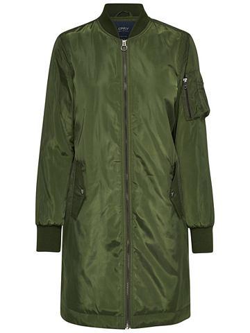 Nylon-Bomber- пальто