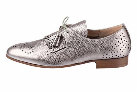Туфли на шнуровке в Metallic-Look
