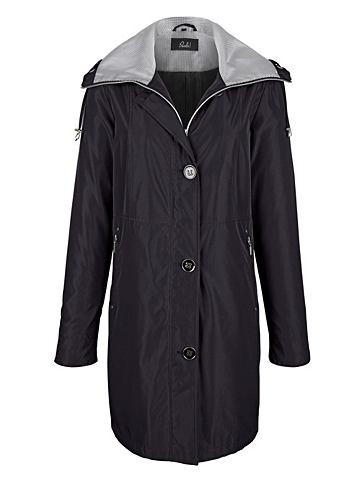 Пальто короткое с Hahnentrittdessin на...