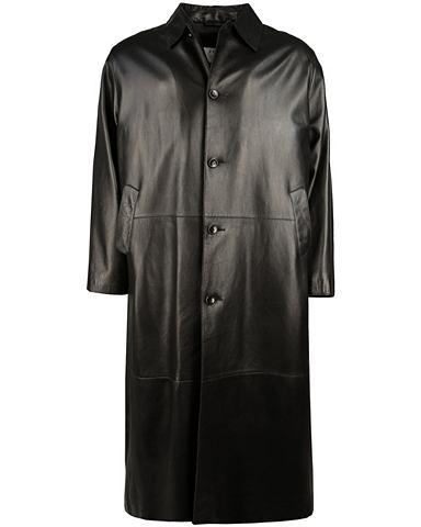 Пальто кожаное Herren Exlo