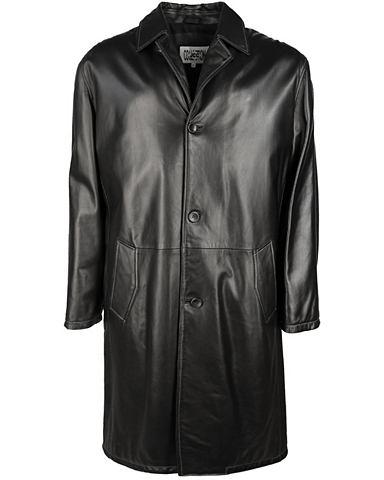 Пальто кожаное Herren Shaqon