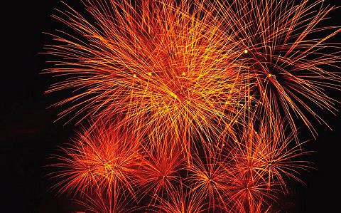 Фотообои »Feuerwerk«