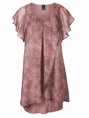 Платье в асимметричный покрой