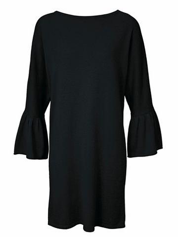 Платье трикотажное с ausgestellten рук...