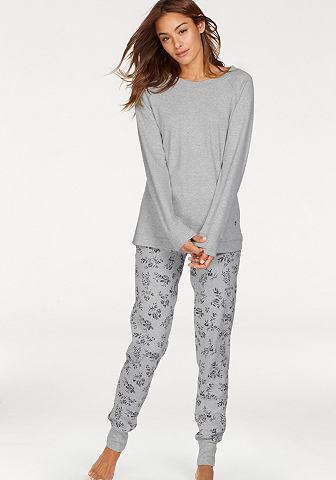 Пижама с geblümter брюки