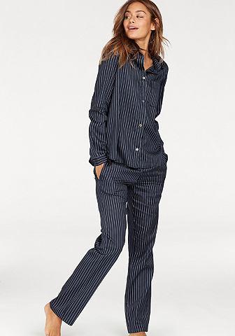 Пижама с пуговицы и воротник