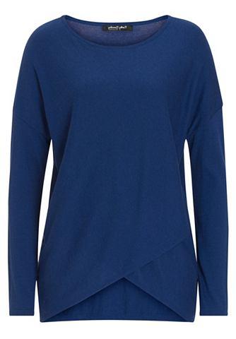 Пуловер с с ложным запахом и футболка