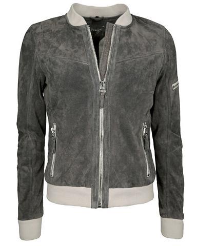 MAZE Куртка кожаная с талия »Pawlett&...